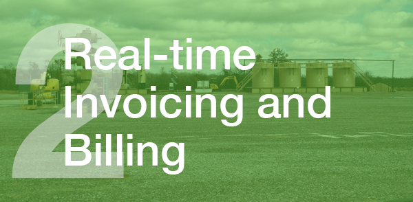Real-time invoicing and billing