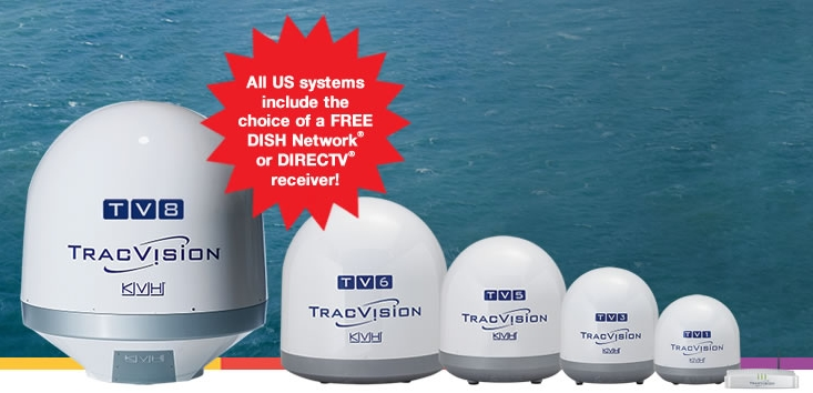 Commercial TracVision line