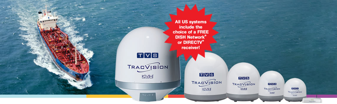 TracVision for Commercial Vessels