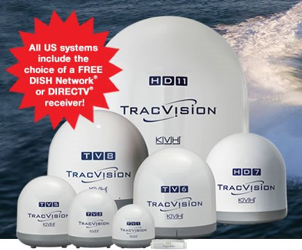 TracVision for Sea Ray