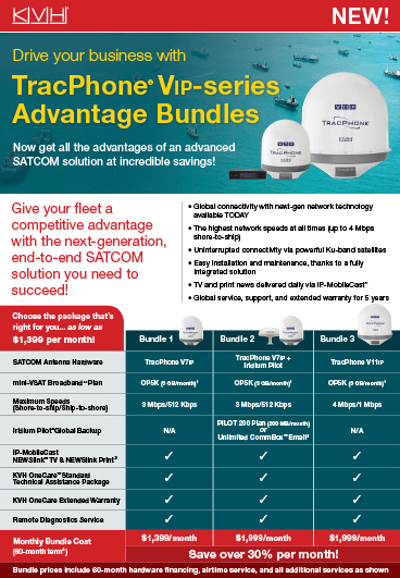 TracPhone Advantage Bundles