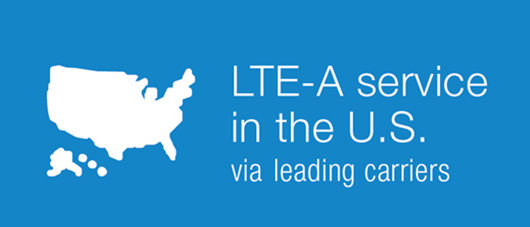 LTE-A service in the U.S. via 2 leading carriers