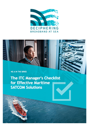 ITC Manager's Checklist
